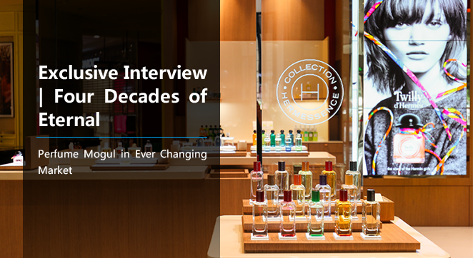 Exclusive Interview   Four Decades of Eternal: Perfume Mogul in Ever Changing Market